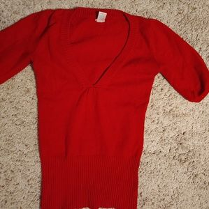 Dark red Maurice's sweater